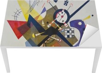 Vasilij Kandinskij - På White II Bord og skrivbordfiner