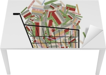 3411c9d2e Bunke av bøker i handlekurven for ditt design