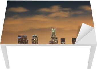 Bord- og skrivebordsklistremerke Downtown Los Angeles skyline