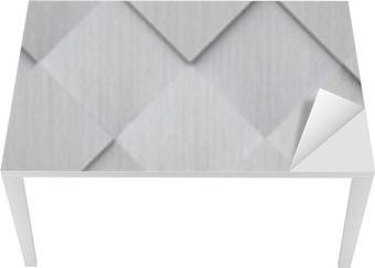 Bord- og skrivebordsklistremerke Flislagt metall tekstur (nettsted hode)