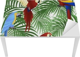 Bord- og skrivebordsklistremerke Papegøyefugl