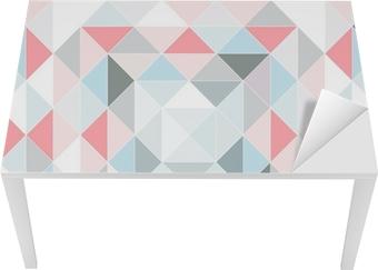 36039872 Lerretsbilde Retro mønster av geometriske former. • Pixers® - Vi lever for  forandring