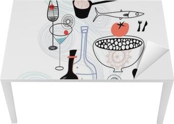 Bureau- en Tafelsticker Eten en drinken