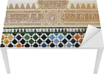 Tegel Decoratie Stickers : Fotobehang tegel decoratie alhambra paleis zetel spanje u2022 pixers