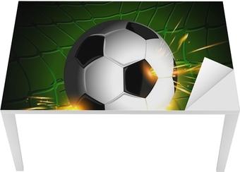 Fotobehang Voetbal verlichting • Pixers® - We leven om te veranderen