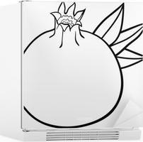 Boyama Kitabı Için Nar Meyvesi Poster Pixers Haydi Dünyanızı