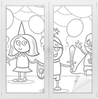 Fantezi Top Boyama çocukların Poster Pixers Haydi Dünyanızı