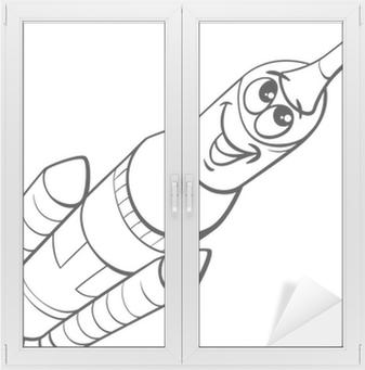 Uzay Roket Boyama Poster Pixers Haydi Dünyanızı Değiştirelim