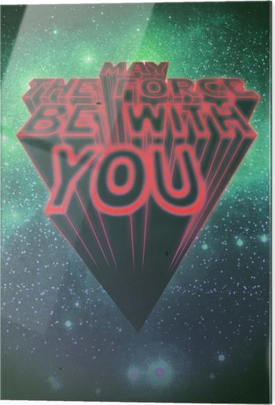 Cama baskı Motivasyon poster -