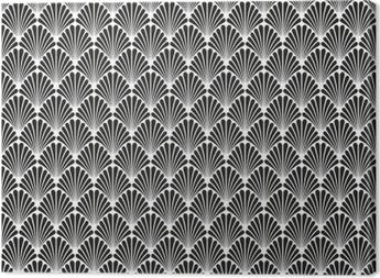 Canvas Abstracte Naadloze Art Deco Vector Patroontextuur