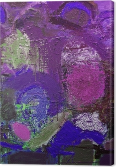 Canvas Abstracte tekens