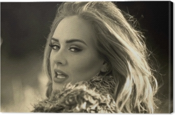 Canvas Adele