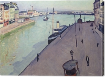 Canvas Albert Marquet - Le Havre