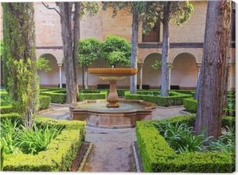 Canvas Alhambra in Granada, Spanje
