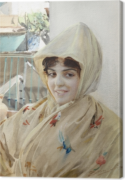 Canvas Anders Zorn - Mathilde - Reproductions
