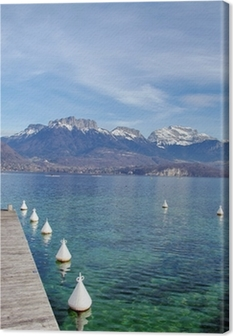 Canvas Annecy meer