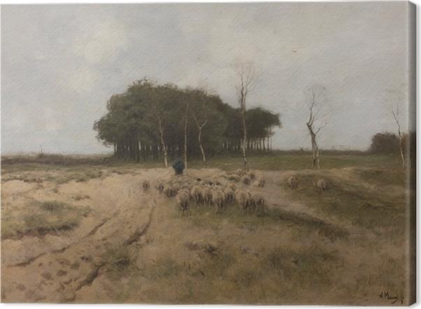 Canvas Anton Mauve - Horký den v Laren - Reproductions