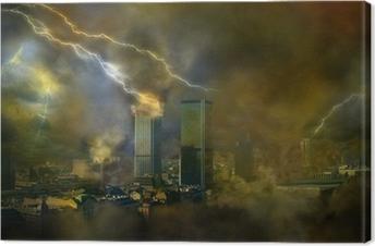 Canvas Apocalyps doomsday weersafwijkingen