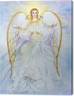 "Canvas Aquarel ""Angel"""