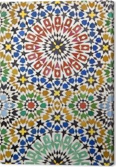 Canvas Arabische ornament