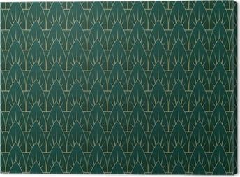 Canvas Art Deco Verlaat Patroon
