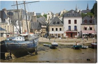 Canvas Auray - Le port de Saint-Goustan (Morbihan, Bretagne))