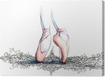 Canvas Balet danser (reeks C)