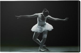 Canvas Balletdanser-actie