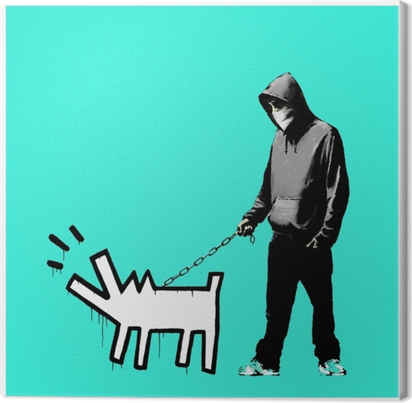 Canvas Banksy - Thema's
