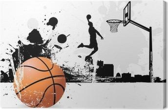 Canvas Basketballer