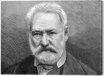 Canvas Bearded Man - 19de eeuw - Victor Hugo