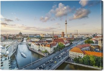 Canvas Berlijn, Duitsland Middag Cityscape
