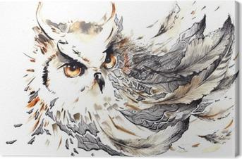 Canvas Bird