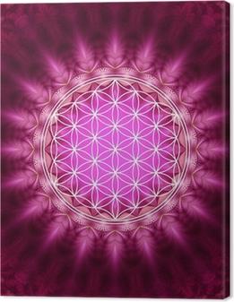 Canvas Blume des Lebens - Energetisierung, Heilige Geometrie