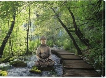 Canvas Boeddha en Serenity
