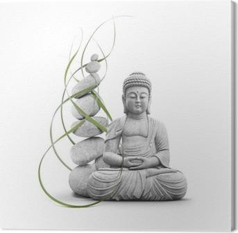 Canvas Boeddha en Welzijn
