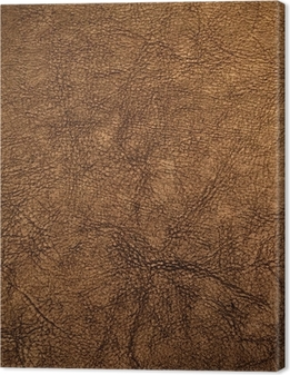 Canvas Bruin lederen textuur
