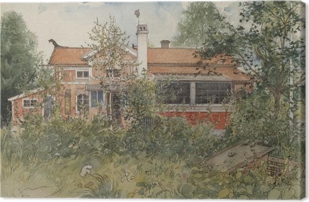 Canvas Carl Larsson - Dům na slunci - Reproductions