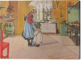 Canvas Carl Larsson - Kuchyně
