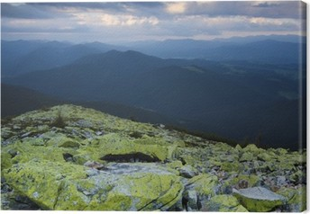 Canvas Carpathian berglandschap