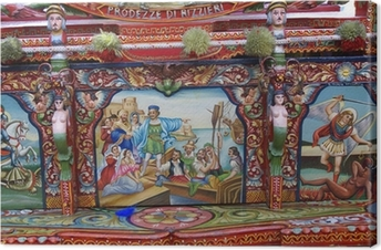 Canvas Carretto siciliano