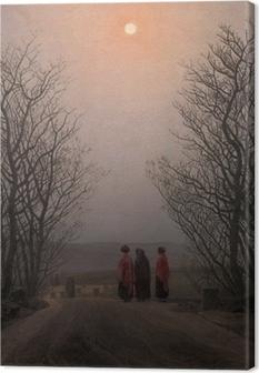 Canvas Caspar David Friedrich - Jarní ráno