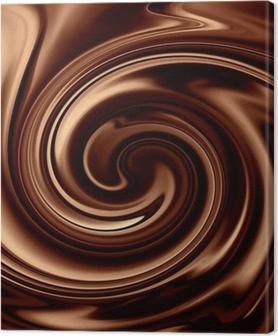 Canvas Chocolade achtergrond