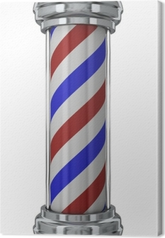 Canvas Classic Barber Pole