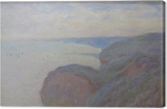 Canvas Claude Monet - Kliffen in de buurt van Dieppe