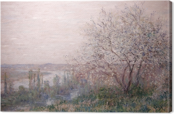Canvas Claude Monet - Lente - Reproducties