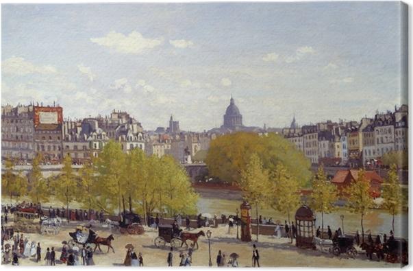 Canvas Claude Monet - Quai du Louvre - Reproducties