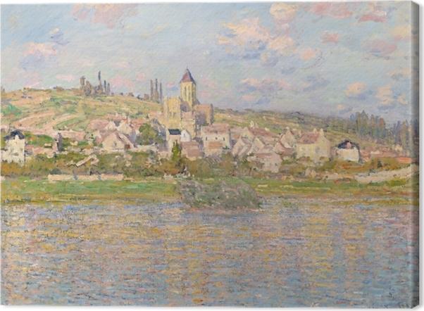 Canvas Claude Monet - Vetheuil - Reproducties