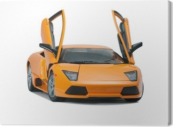 Canvas Collectible toy model Lamborghini vooraanzicht