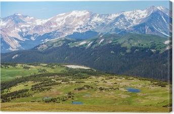 Canvas Colorado Rocky Mountains